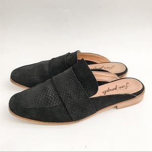 Free People At Ease Loafer in Black size 39